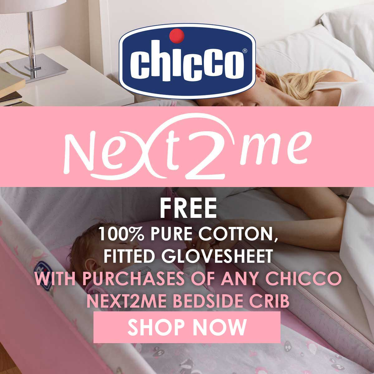 Chicco Next 2 Me Glovesheet