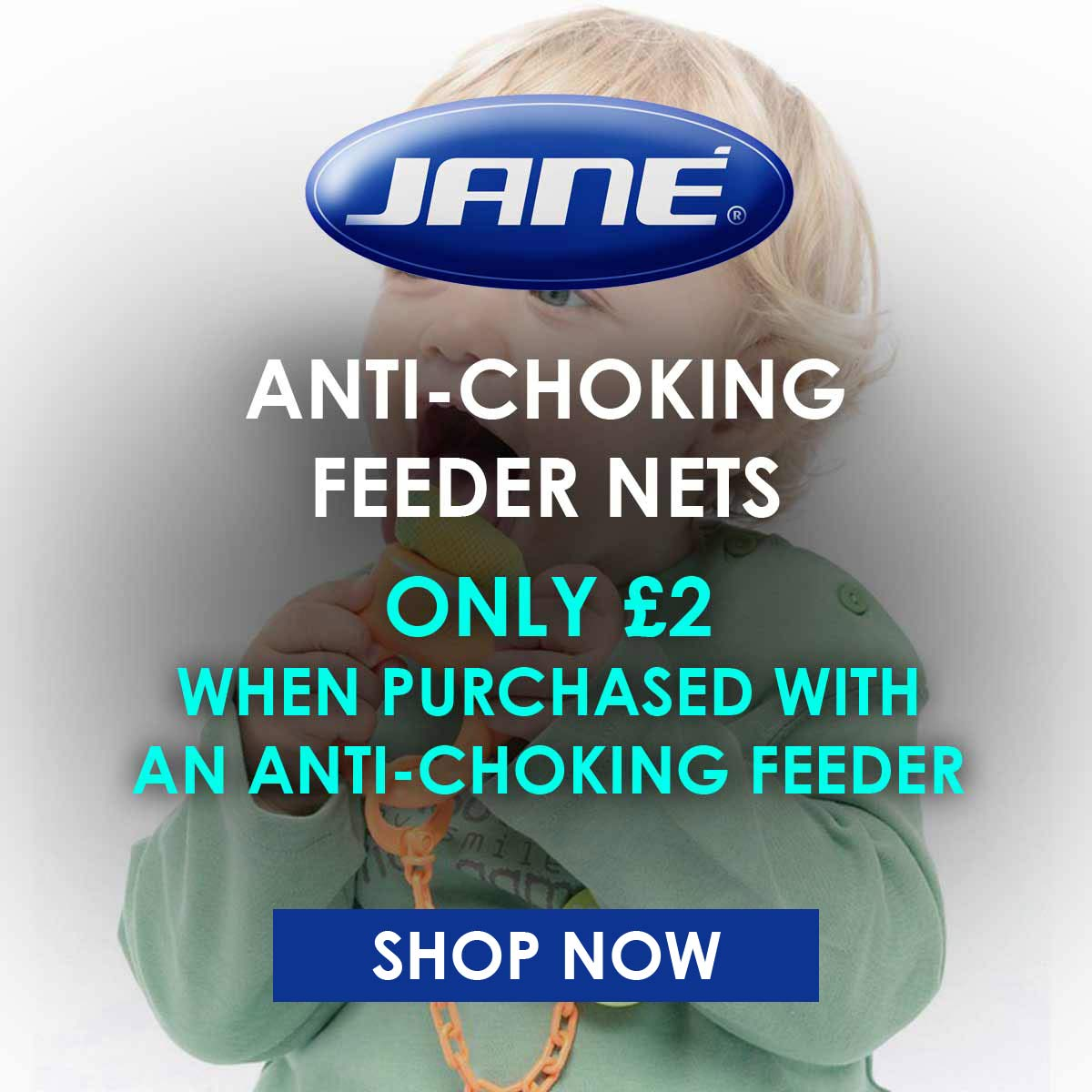 Jane Anti-choking feeder nets