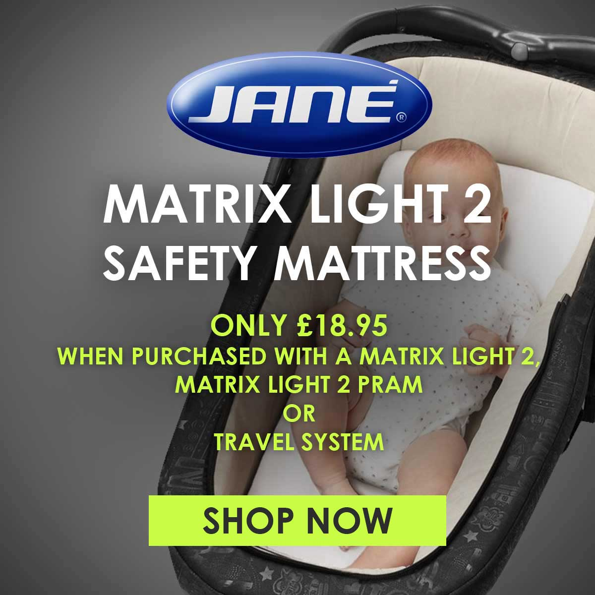 Jane Safety Mattress for Matrix Light 2 Basket Offer