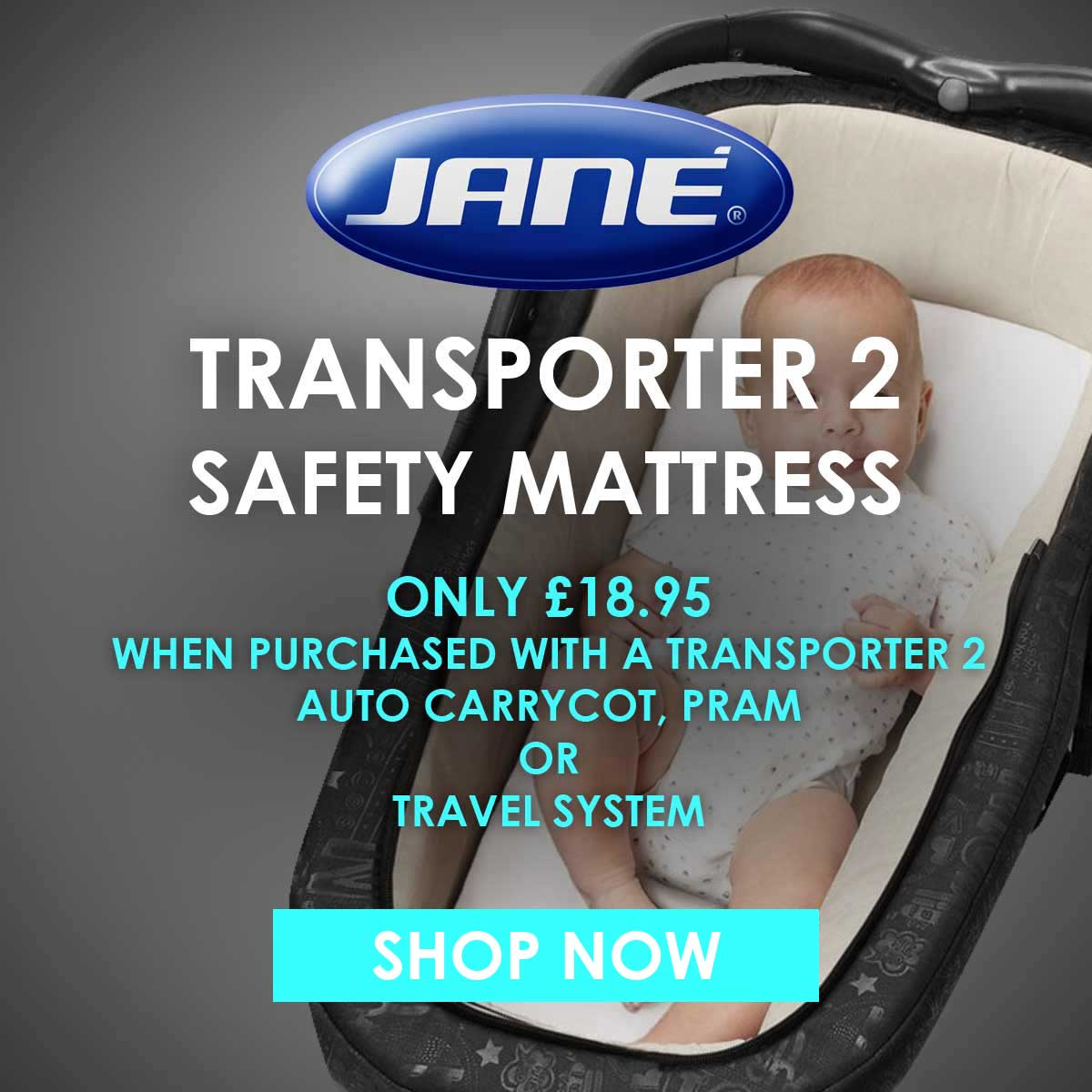 Jane Safety Mattress for Transporter 2 Basket Offer