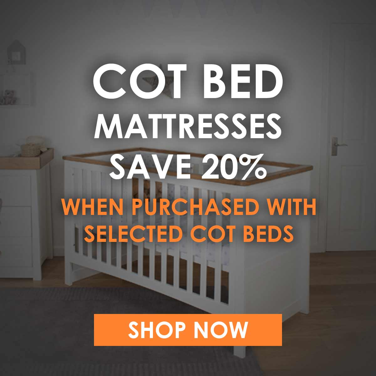 Cot Bed Mattress offer