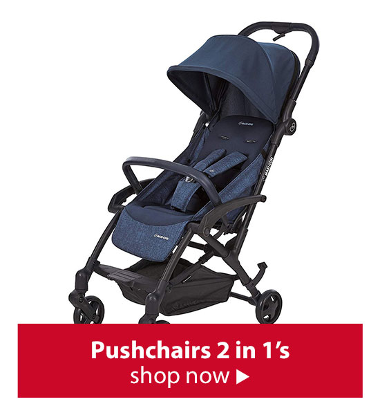 Shop Pushchairs 2 in 1s