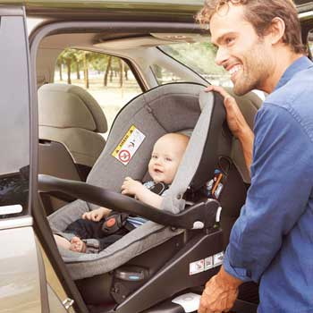 Are rearward facing car seats safer?