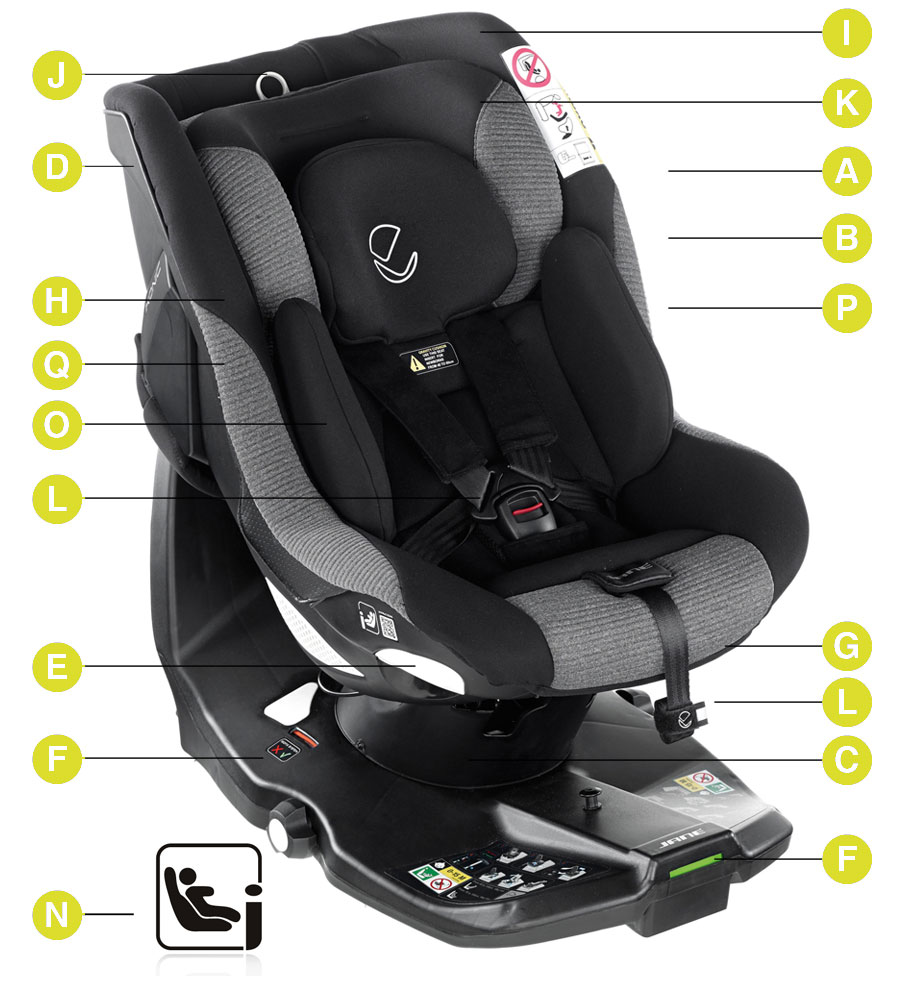 Jane iKonic i-Size Car Seat Technical details