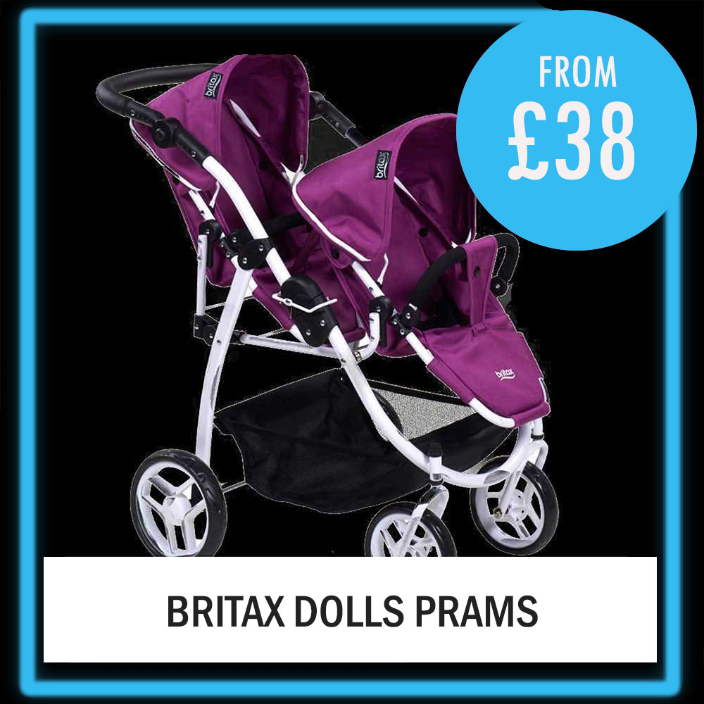 TWIN DOOLS PRAMS