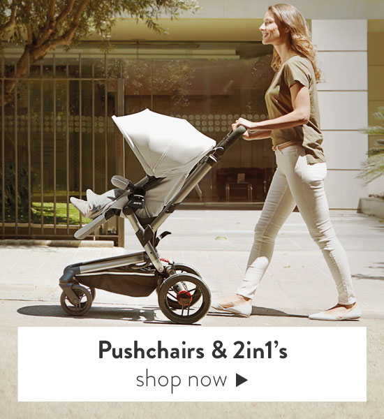 Pushchairs & 2in1 convertible prams