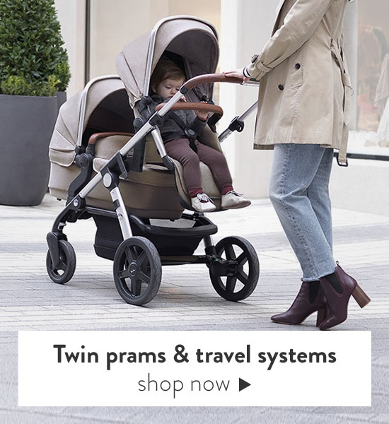 Twin Prams & Twin Travel systems