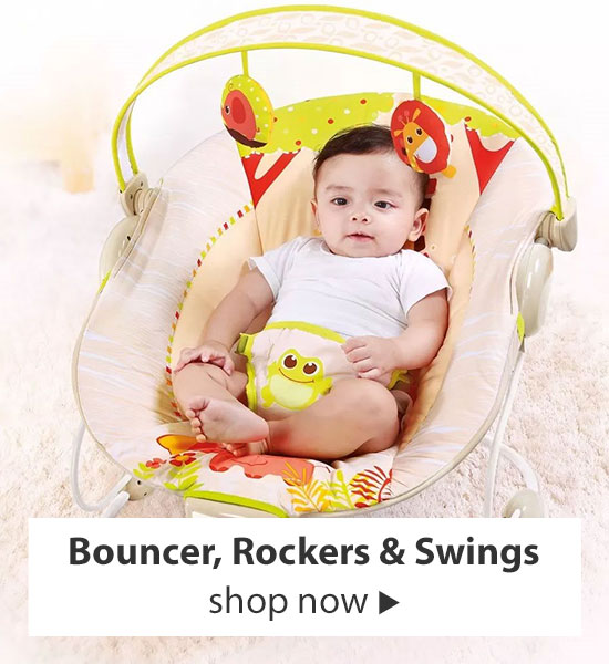 Shop Bouncer, Rockers & Swings