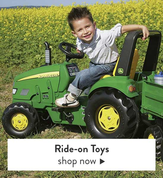 Shop Kids Ride on toys, pedal cars and tractors