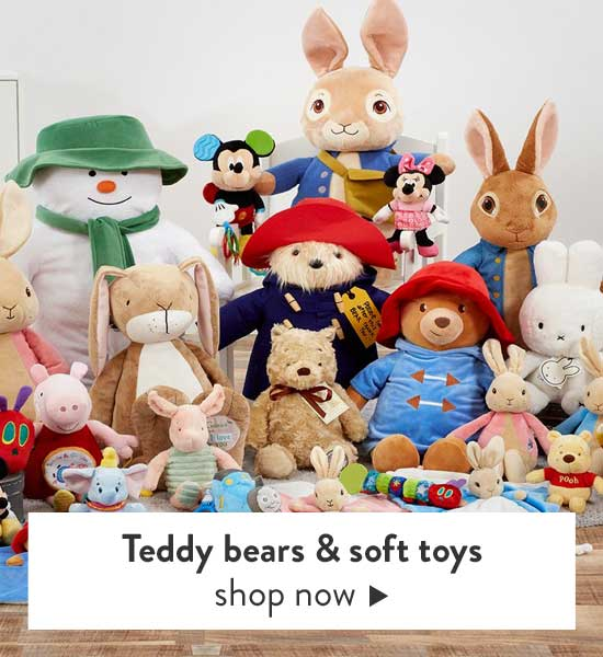 Shop Soft toys and teddy bears