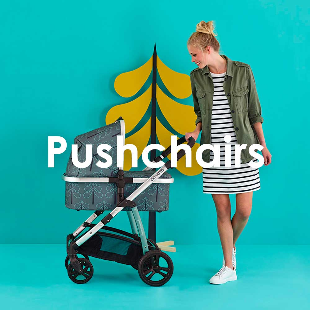 pushchairs and prams