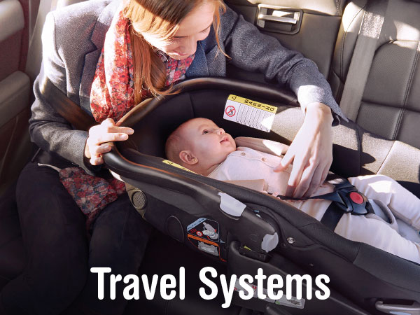 complete range of Jané Travel systems