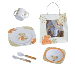 Jane 5 Piece Melamine Crockery Set