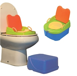 Jane Educational Musical Potty & Booster step