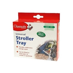 Universal Stroller Tray by Clippasafe