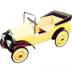 Mulholland and Bailie Replica Vintage Metal Pedal Car
