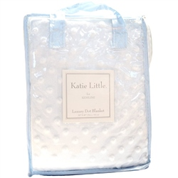 Kids Line Katie Little Luxury Dot Blanket