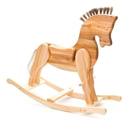 Hibba Rocco Large Rocking horse