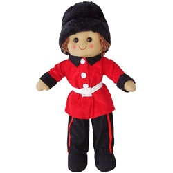 Powell Craft Soldier Rag Doll