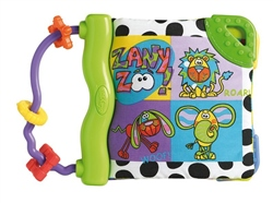 Playgro Zany Zoo Teether Book