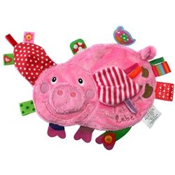 Label Label Friends Comfort Blankie Pig