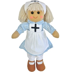 Powell Craft Medium Rag Doll Nurse
