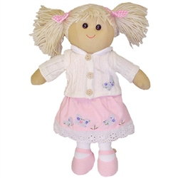 Powell Craft Medium Jumper Rag Doll
