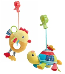 Jane Activity Soft Toy with clip
