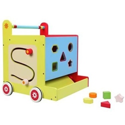 BabyLo Push Along Activity Cube