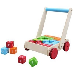 BabyLo Babywalker with Blocks