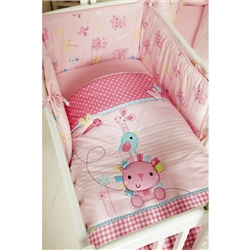 Clair De Lune Lottie and Squeek Rocking Crib Bedding Set
