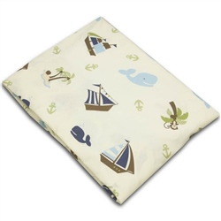 Nojo Ahoy Mate Fitted Cot Sheet