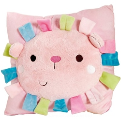Clair De Lune Lottie and Squeek Activity Cushion