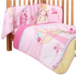 Clair De Lune Lottie and Squeek 2 Piece Bedding Set