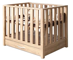 BabyStyle Bordeaux Playpen with Drawer