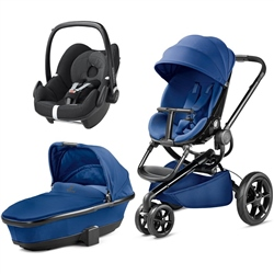 Quinny Moodd Package, Carrycot & Pebble