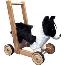 Mulholland and Bailie Push-a-Long Border Collie