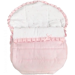 Rosy Fuentes Car Seat Cover