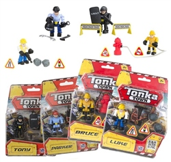 Tonka Figure Playset (Assorted)