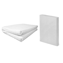 Johnston's Travel Cot Safety Foam Mattress
