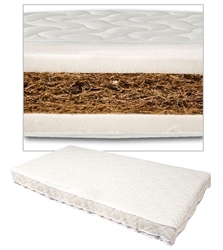 Johnston's Cot/Cotbed Coconut Coir Mattress