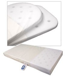 Johnston's Moses Basket Foam Safety Mattress