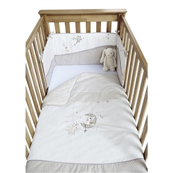 Clair De Lune Bedtime Story 2 Piece Cot / Cot Bed Set