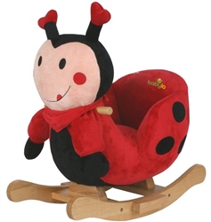 BabyLo Rocking Lucky Ladybug with sound