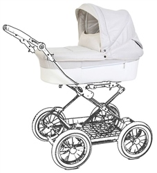 BabyStyle Prestige 3 in 1 Leatherette Body Only