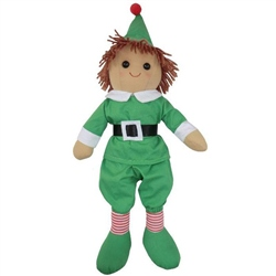 Powell Craft Medium Elf Rag Doll