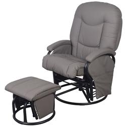 Super Little House Glider Chair With Footstool Samuel Johnston Com Machost Co Dining Chair Design Ideas Machostcouk