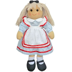 Powell Craft Medium Alice Rag Doll
