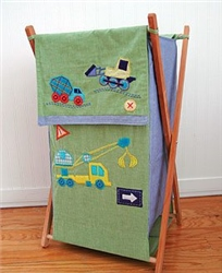 Kids Line Construction Zone Laundry Basket