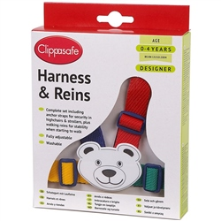 Easy Wash Designer Harness & Reins by Clippasafe